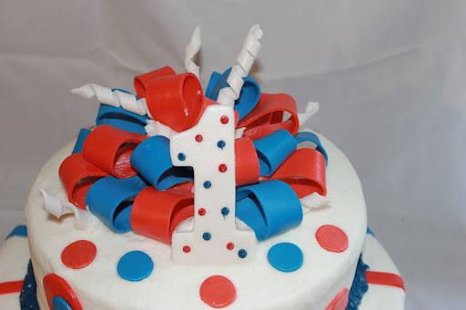Amazing Red White Blue Birthday Cake Shortycake Creations Funny Birthday Cards Online Alyptdamsfinfo
